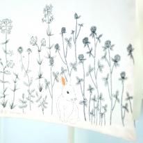 [모모제작소]봄날엔 모던 북유럽 코튼 가리개커튼 78x102