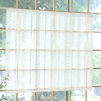[모모제작소]러브레터 면레이스 북유럽 가리개커튼 143x123