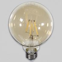 S_101259 LED전구 볼 램프 에코 4W E26 G95 전구색