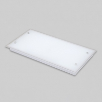 V_110211거실등 LED실크유리 삼성칩 2등 평 50W주광색