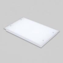 V_110210거실등 LED실크유리 삼성칩 3등 평 75W주광색
