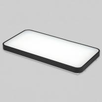V_110342 거실등 LED마빈 삼성칩 2등 50W 블랙 주광색