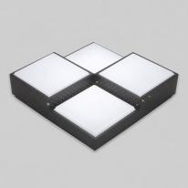 V_110372 방등 LED큐브 4등 50W 주광색 블랙