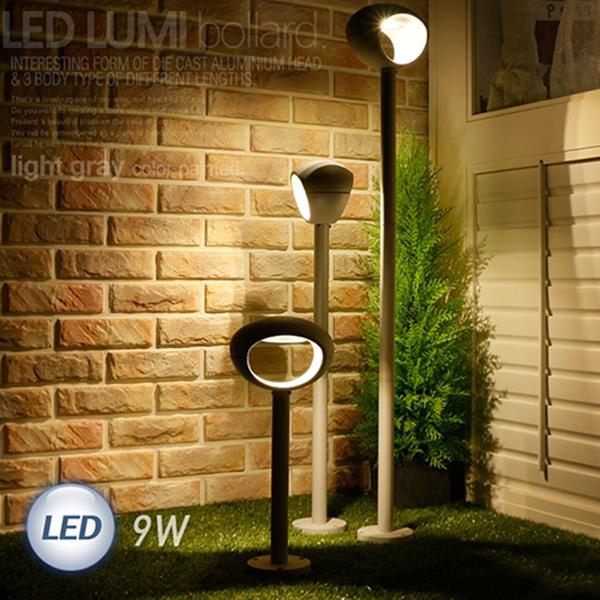 LED 루미 볼라드 1등 9W 114568