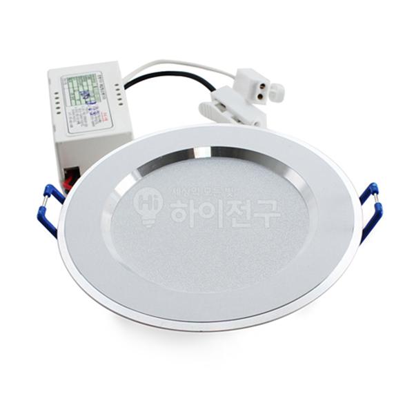 동영 LED 매입 등기구 5W 3인치 시스템 일체형 114433