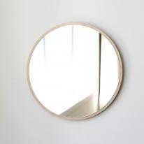자작나무 원형거울