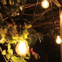신제품 포라이트 스트링 파티 라이트 실내/야외용 전등선 16M/10M 블랙/화이트