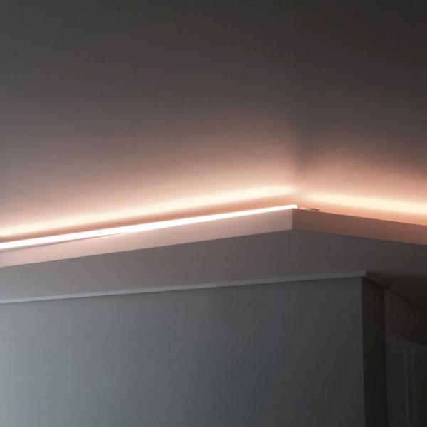 [포라이트 데코] 간접조명 LED T5 300mm 600mm 900mm 1200mm 주광색 전구색 침대조명 아트월 천장조명