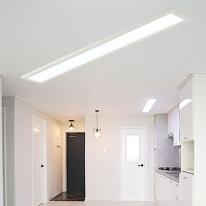 [포라이트] ALL NEW 슬림엣지 LED 평판등 - 거실등 (1270x180)