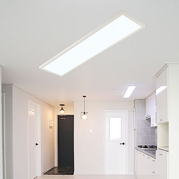 [포라이트] ALL NEW 슬림엣지 LED 평판등 - 거실등 (1290x320)