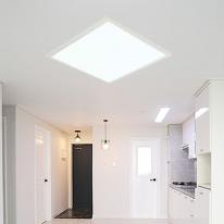 [포라이트] ALL NEW 슬림엣지 LED 평판등 - 방등 (520x520)