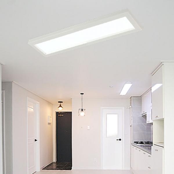 [포라이트] ALL NEW 슬림엣지 LED 평판등 - 주방등 욕실등 (630x180)