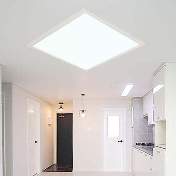 [포라이트] ALL NEW 슬림엣지 LED 평판등 - 방등 (630x630)