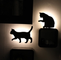[모노] 깜직 고양이 센서등