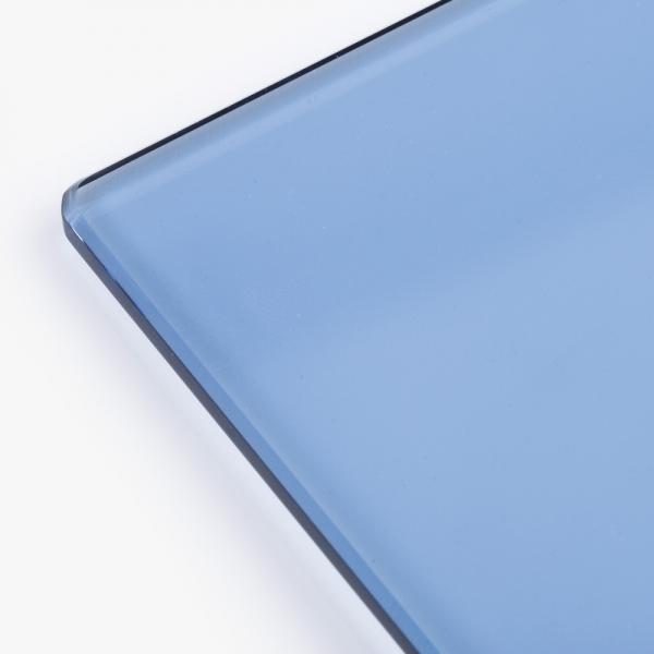 강화유리 - 블루 5T 테이블/선반 [주문제작형]