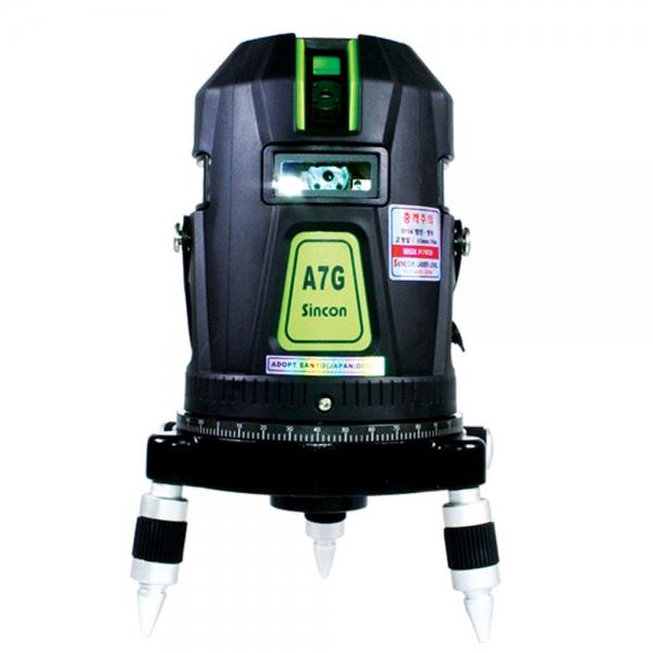 신콘]A7G 전자식라인레이저(4V4H1D.30mW.LD그린:영하20℃사용)