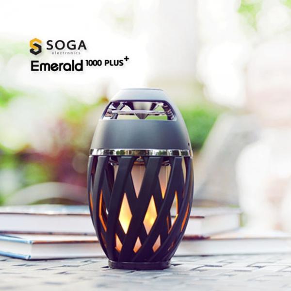 툴콘]Emerald1000+ LED램프블루투스스피커 (충전식)
