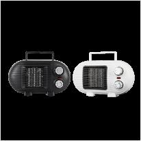 툴콘 미니팬히터 저전력 500w 안전한PTC히터 전도스위치 내장 사무실 캠핑 가정 TP-800D