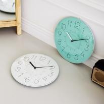 우드로하우스 유리 돔 무소음벽시계 인테리어 벽시계 8종