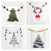 Tapy`s Tree 크리스마스 / 패브릭 포스터 태피스트리 전구 조명 가랜더 특가