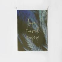 패브릭 포스터 태피스트리 가리개 커튼 러브 트레블 엔조이
