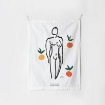 패브릭 포스터 태피스트리 가리개 커튼 마티스 뉴오스 오렌지