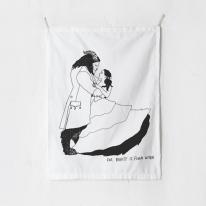 패브릭 포스터 태피스트리 가리개 커튼 뷰티앤더비스트