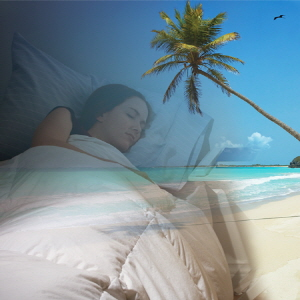 스피커 장착 수면 베개 Sleep Theraphy Pillow