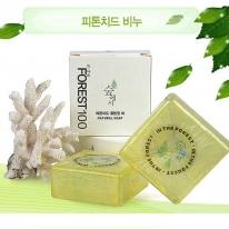 [숲에서] 피톤치드 비누 (100g)/클렌징 바