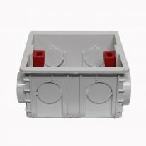 [우연티엔이] 유럽형콘센트 스위치박스, 콘센트박스 PVC박스 - 건식용 1구