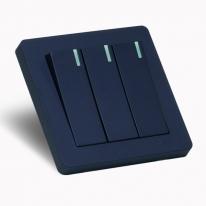 [우연티엔이] 유럽형스위치 K6K /1구 3회로 블루