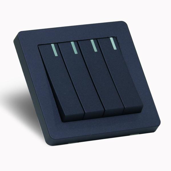 [우연티엔이] 유럽형스위치 K6K /1구 4회로 블루