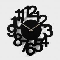 [핸즈홈] 벨르몬트 블랙넘버 무소음벽시계