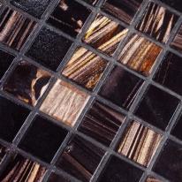 [핸즈홈] 사각모자이크 블랙칩 타일