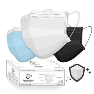 제너럴가드 일회용 마스크 1통50매 (화이트/블루/블랙)
