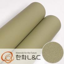 한화인테리어필름 - S200  올리브그린 솔리드 단색 시트지 / 가구 · 싱크대 · 현관문