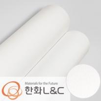 한화인테리어필름 - S115  화이트 솔리드 백색 단색 시트지 / 가구 · 싱크대 · 현관문