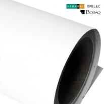 현대엘앤씨 인테리어필름 무광시트지 화이트 S115