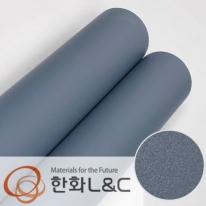한화인테리어필름 - S198  블루그레이 솔리드 단색 시트지 / 가구 · 싱크대 · 현관문
