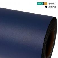 현대엘앤씨 인테리어필름 무광시트지 네이비 S204