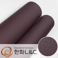 한화인테리어필름 - S205 <br> 퍼플 보라색 솔리드 단색 시트지 / 가구 · 싱크대 · 현관문