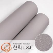 한화인테리어필름 - S209 <br> 그레이 회색 솔리드 단색 시트지 / 가구 · 싱크대 · 현관문