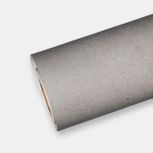 한화인테리어필름 - NS401  노출콘크리트 스톤 시트지 / 아트월 · 포인트 · 현관문