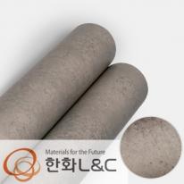 한화인테리어필름 - NS402  노출콘크리트 스톤 시트지 / 아트월 · 포인트 · 현관문