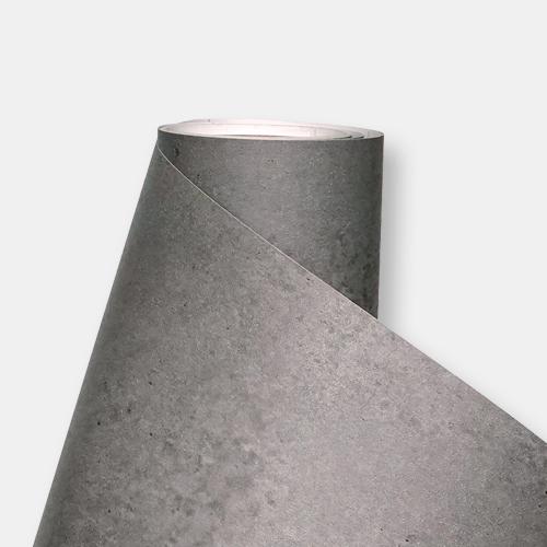한화인테리어필름 - NS403  노출콘크리트 스톤 시트지 / 아트월 · 포인트 · 현관문