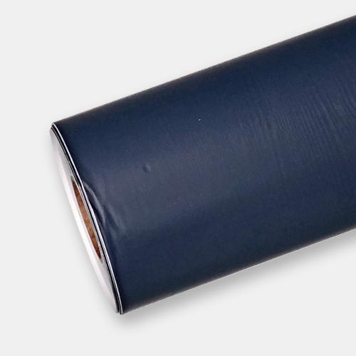 한화인테리어필름 - PTW07  네이비 남색 페인티드우드 시트지 / 가구 · 싱크대 · 현관문