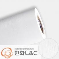 한화인테리어필름 - ZSW04  화이트 흰색 디자인우드 시트지 / 가구 · 싱크대 · 현관문