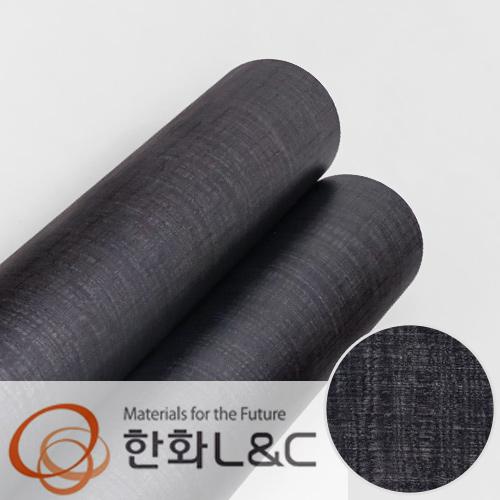 한화인테리어필름 - DWP33  블랙 검은색 디자인우드 시트지 / 가구 · 싱크대 · 현관문
