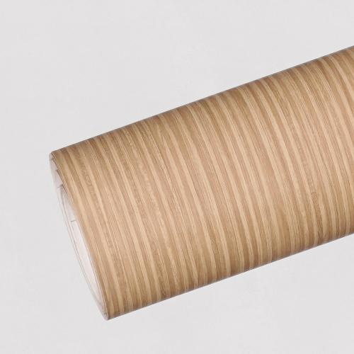 한화인테리어필름 - ZK22P프리미엄우드 스트라이프 무늬목시트지 / 가구 · 테이블 · 방문