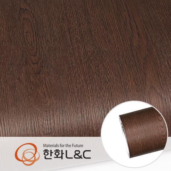 한화인테리어필름 - PZ020 프리미엄우드 오크 무늬목시트지 / 가구 · 테이블 · 방문